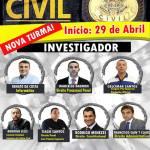 CP GEL – Matrículas abertas para o Curso Preparatório da Polícia Civil