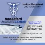 MASSAFERRI ASSESSORIA CONTÁBIL – Especialidade em empresas prestadoras de serviços e condomínios