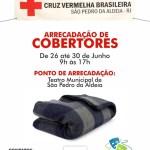 SÃO PEDRO DA ALDEIA – Campanha para arrecadação de cobertores começa nesta segunda-feira (26) em São Pedro da Aldeia