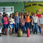SÃO PEDRO DA ALDEIA – Defesa Civil de São Pedro da Aldeia ensina técnicas de primeiros socorros em creche