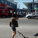 ARARUAMA – Idoso é atropelado por ônibus na rodoviária de Araruama