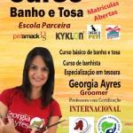 Georgia Ayres Centro de Estética Canina  – Curso básico de banho e tosa em São Pedro da Aldeia