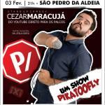EVENTO – Teatro Municipal de São Pedro da Aldeia apresenta gala beneficente e stand up comedy neste fim de semana