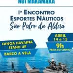 SÃO PEDRO DA ALDEIA – 1º Encontro de Esportes Náuticos acontece neste fim de semana em São Pedro da Aldeia