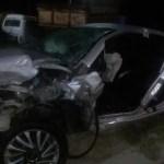 ACIDENTE – Colisão entre carros na RJ-140 deixa homem e mulher gravemente feridos