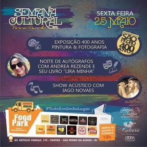 EVENTO – São Pedro da Aldeia recebe Semana Cultural FoodPark