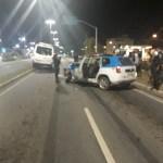 ACIDENTE – Viatura e van colidem na RJ-106, em Rio das Ostras, e dois PMs se ferem