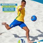 """SÃO PEDRO DA ALDEIA – """"Orla em Movimento"""" oferece aulas de beach soccer na Praia do Centro de São Pedro da Aldeia"""