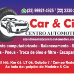 EVENTO – Grande inauguração do Centro Automotivo Car & Cia Auto Center São Pedro da Aldeia