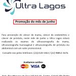 ULTRA  LAGOS – Promoção  especial do mês de junho