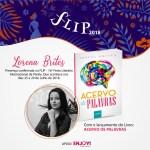 EVENTO –  Região dos Lagos terá representante na Flip