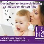 FONOAUDIÓLOGA DEYSI MARANO – Fique atento ao desenvolvimento da linguagem do seu filho