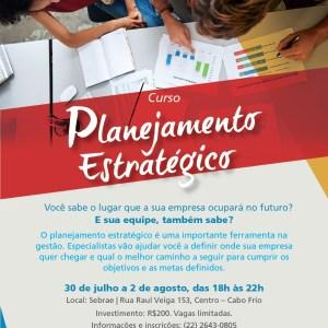 REGIÃO DOS LAGOS – Sebrae/RJ promove curso de Planejamento Estratégico em Cabo Frio
