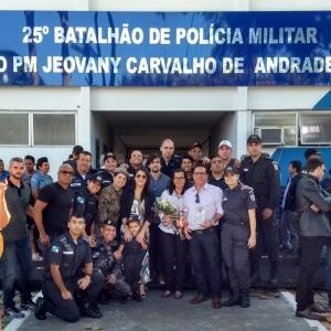 REGIÃO DOS LAGOS – Solenidade de  Denominação do 25° BPM – CAP PM Jeovany Carvalho de Andrade Brito