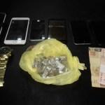 AÇÕES POLICIAIS – Três pessoas são detidas com drogas em São Pedro da Aldeia