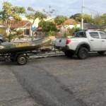 REGIÃO DOS LAGOS – Duas pessoas são detidas na primeira ação conjunta de fiscalização do defeso total na Lagoa de Araruama