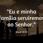 COLUNA DO EDU – A DECISÃO DE SERVIR A DEUS NA FAMÍLIA