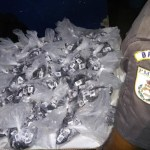 AÇÕES POLICIAIS – Homens são detidos com carga de cocaína escondida no carro na RJ-124