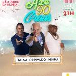 """EVENTO – São Pedro da Aldeia recebe banda """"Axé 90 Graus"""" na próxima sexta-feira (18)"""