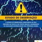 SÃO PEDRO DA ALDEIA – Defesa Civil de São Pedro da Aldeia entrou em estado de observação