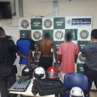 AÇÕES POLICIAIS – Polícia prende grupo apontado como autor roubo de carros em Cabo Frio