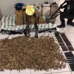 AÇÕES POLICIAIS – Operação contra o tráfico cumpre mandado de prisão e apreende drogas e fuzis em Macaé