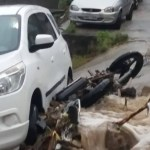 REGIÃO DOS LAGOS – Temporal alaga ruas e deixa moradores ilhados na Região dos Lagos