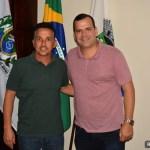 SÃO PEDRO DA ALDEIA – Prefeito Cláudio Chumbinho recebe deputado federal Gutemberg Reis