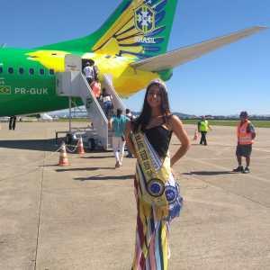 Júlia de Andrade Daudt representa São Pedro da Aldeia noMiss Rio de Janeiro Top World