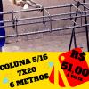 Zafer RA Distribuidora de Ferro e Aço – Coluna 5/16 7×20 cm em promoção