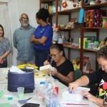 SÃO PEDRO DA ALDEIA – Curso de artesanato em Decoupage movimenta Horto Escola Artesanal