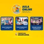 Prefeitura de Araruama lança site com aulas on-line para alunos da rede municipal de ensino