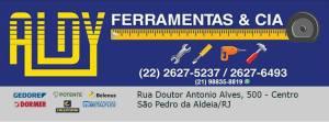ALDY FERRAMENTAS & CIA EM SÃO PEDRO DA ALDEIA