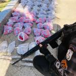 Polícia Militar apreende 3.464 cápsulas de cocaína no bairro Colina em São Pedro da Aldeia