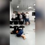 Vídeo flagra confusão entre seguranças e grupo de pessoas na UPA de Cabo Frio