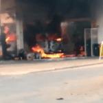 Duas pessoas ficam feridas após explosão em posto de combustíveis em Búzios