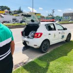 Viatura Grupamento Ambiental de São Pedro da Aldeia sofre colisão na RJ-140