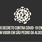Novo Decreto inicia cronograma semanal de medidas restritivas de combate à Covid-19 em São Pedro da Aldeia