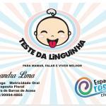 Fonoaudióloga Alessandra Lima: Teste da Linguinha