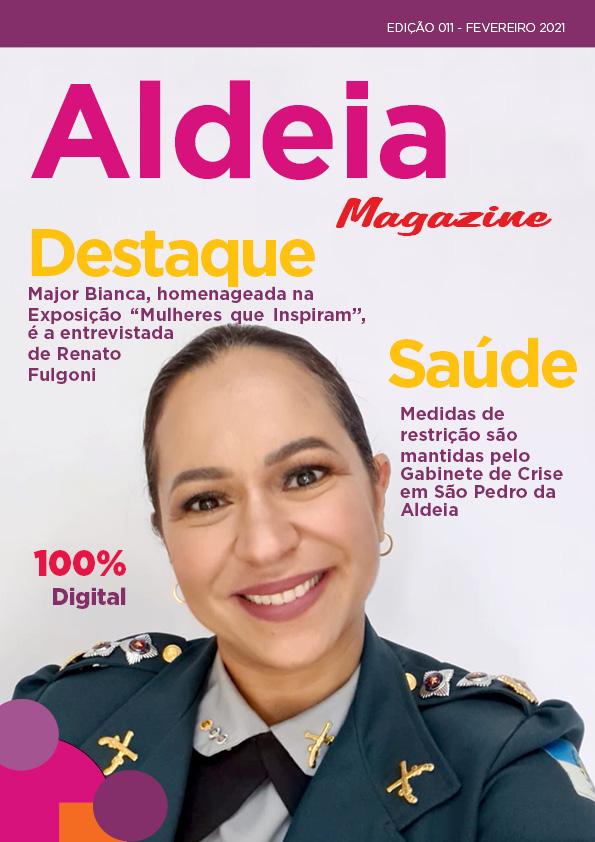 Aldeia Magazine, edição 11, 2ª quinzena de fevereiro 2021