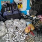 Cinco pessoas são presas em operação contra o tráfico de drogas em comunidades de Maricá