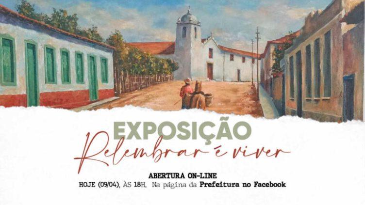 """Live de abertura da exposição """"Relembrar é Viver"""" acontece nesta sexta-feira (9) em São Pedro da Aldeia"""