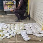 PM apreende veículo vindo do RJ com 4.275 Cápsulas de Cocaína