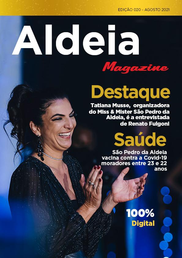 Aldeia Magazine, edição 20, agosto 2021 – nº 02