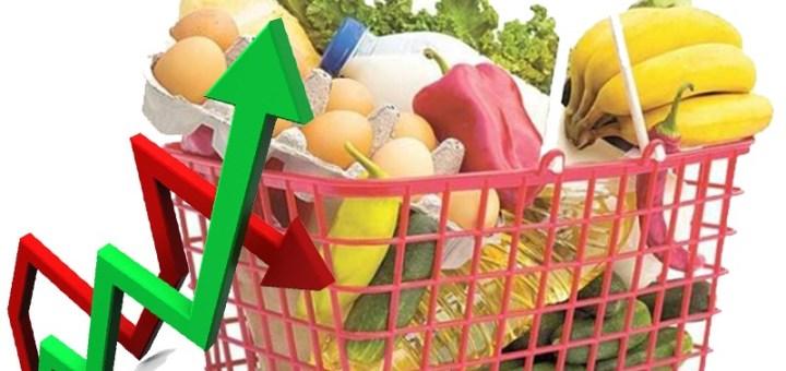 Precios de alimentos de la canasta básica