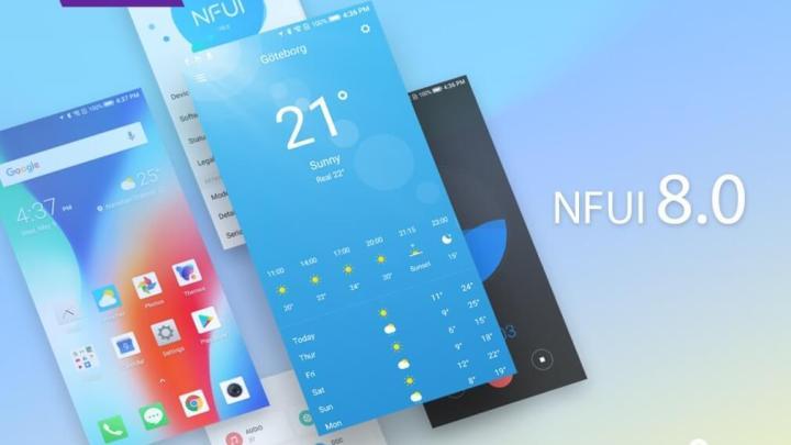 NFUI 8.0 - TP-Link anuncia a nova NFUI 8.0 para smartphones Neffos