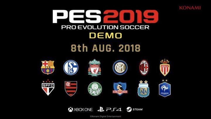 PES2019 - Já pode jogar gratuitamente o PES 2019 na PS4 e na Xbox One