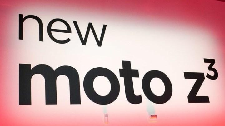 Moto Z3 - Moto Z3 é o novo smartphone da Motorola com ligação 5G