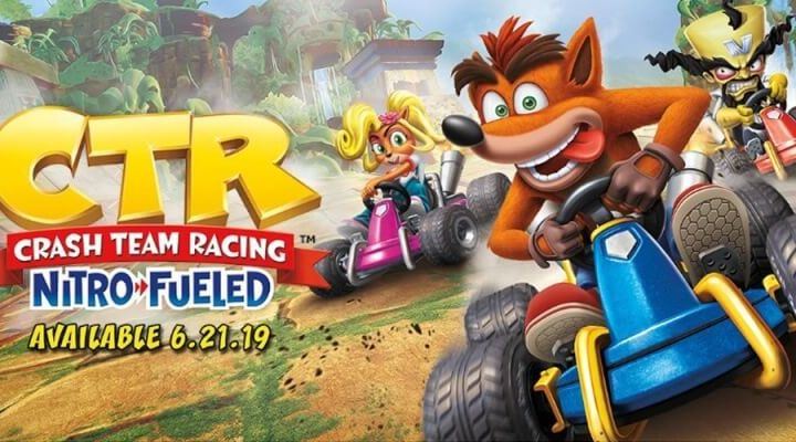 Crash Team Racing Nitro Fueled - Crash Team Racing Nitro-Fueled anunciado para PS4, Xbox One e Nintendo Switch