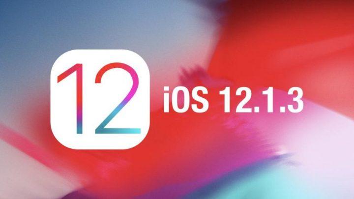 Apple lança o iOS 12.1.3, o MacOS 10.14.3, o WatchOS 5.1.3 e o tvOS 12.1.3